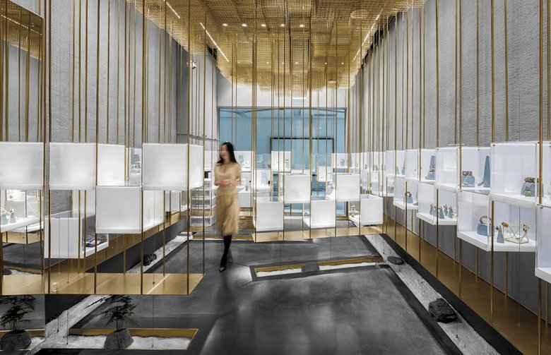 The Designers' Brands Collection Store Under the Golden Cloud