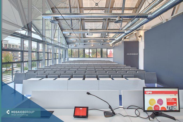 """New University Campus at ex Caserma Perrone, Novara Università degli Studi del Piemonte Orientale """"Amedeo Avogadro"""""""