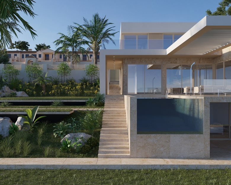 Contemporary house in Spain