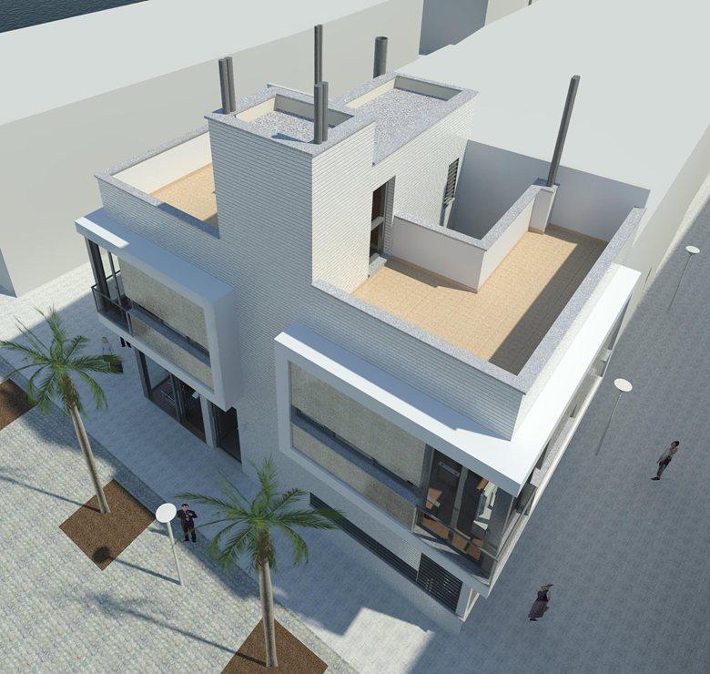 Edificio de 3 estudios y Local en Pedregalejo, Malaga