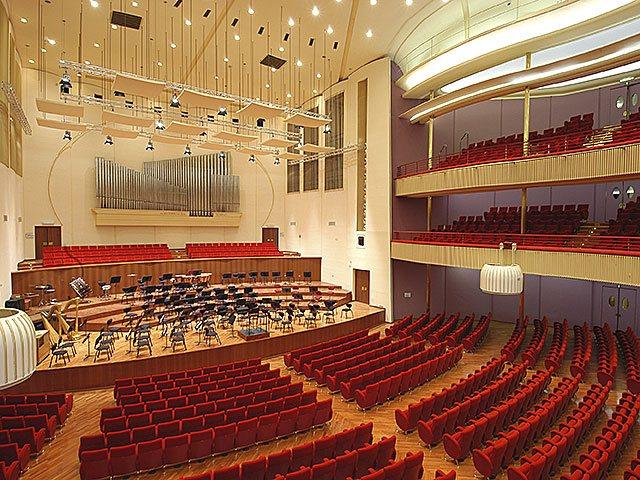 Ristrutturazione Auditorium RAI in Via Rossini, 15 - Torino.