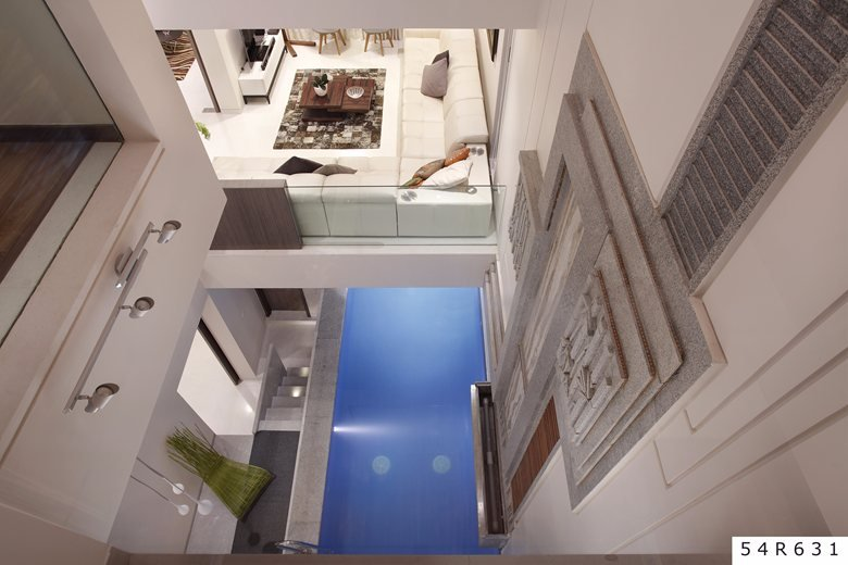 Pool Scaped Courtyard