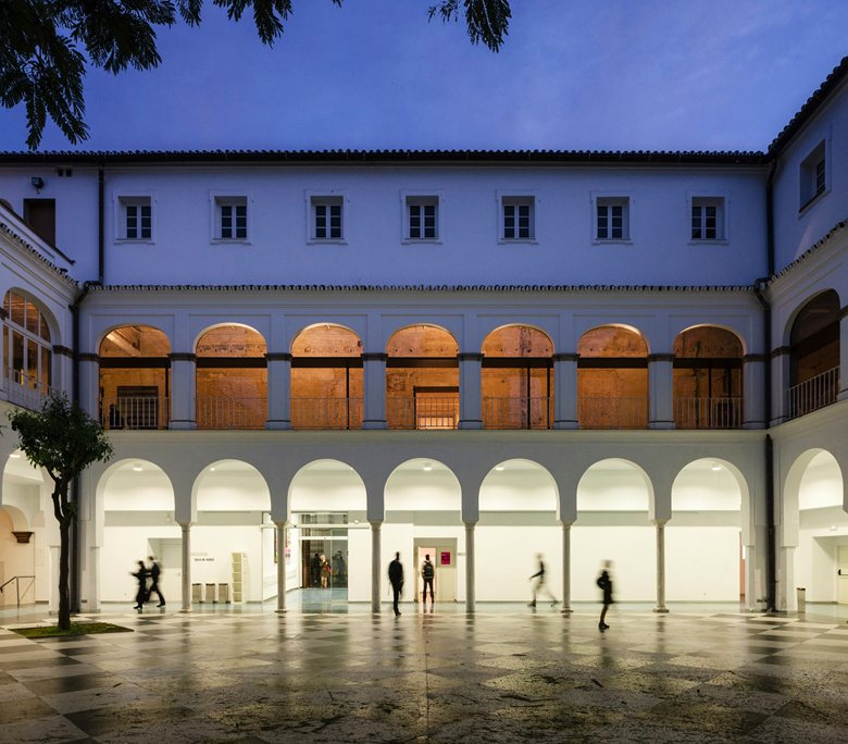 Contemporary art space in the old convent of Madre de Dios