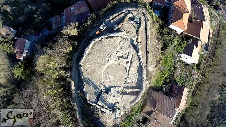 restauro castello di godano