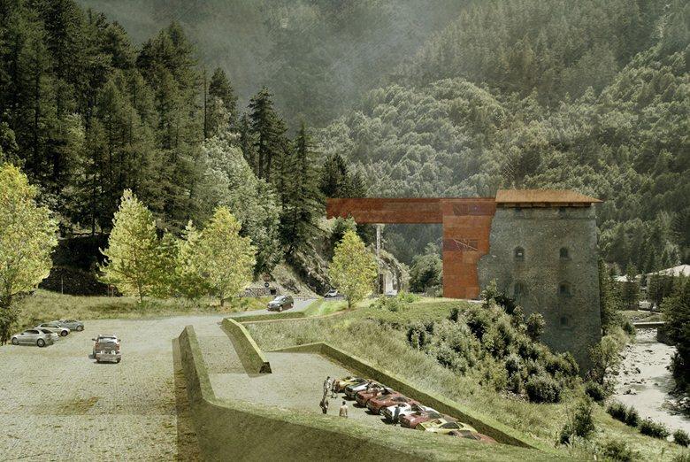 Il drago e la montagna - Recupero e la Valorizzazione del Forte di Fenestrelle