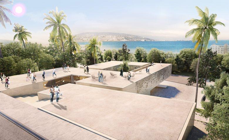 Concours - La Maison de l'architecture à Tanger //  1er prix Youssef Lahkim + BOM architecture