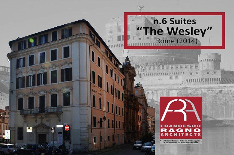 FRA RAGNO ARCHITECTS 2014 - N.6 SUITES THE WESLEY ROME - CASTEL SANT'ANGELO