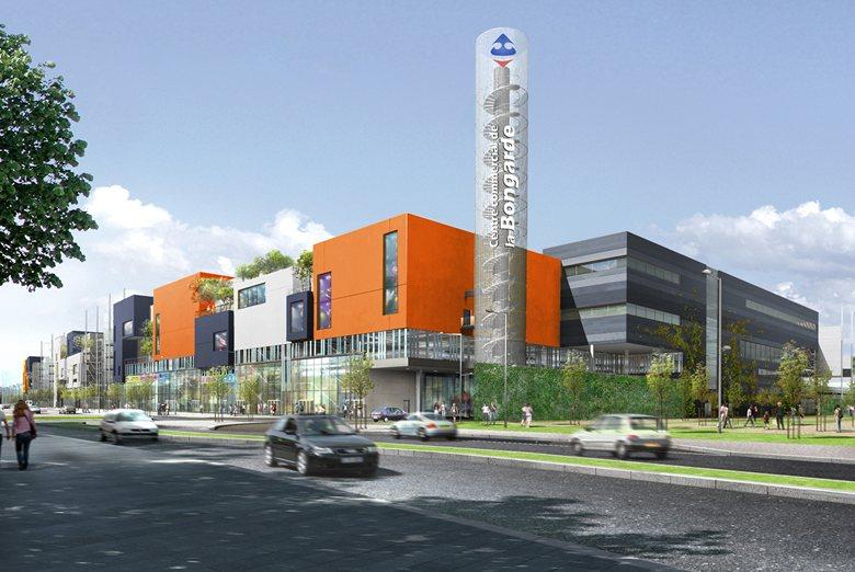 Coloration Centre Commercial Qwartz, Villeneuve-la-Garenne