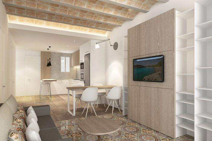 Reforma vivienda EU Barcelona