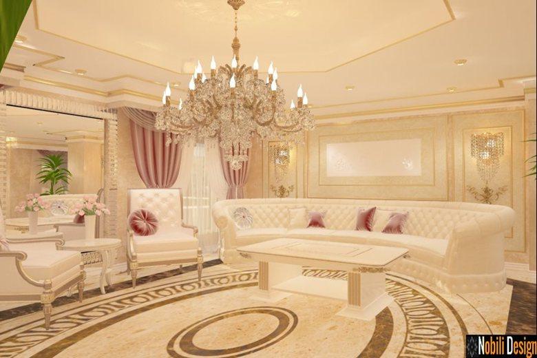 Design interior living casa stil clasic