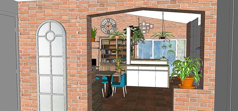 Villa ambiance loft