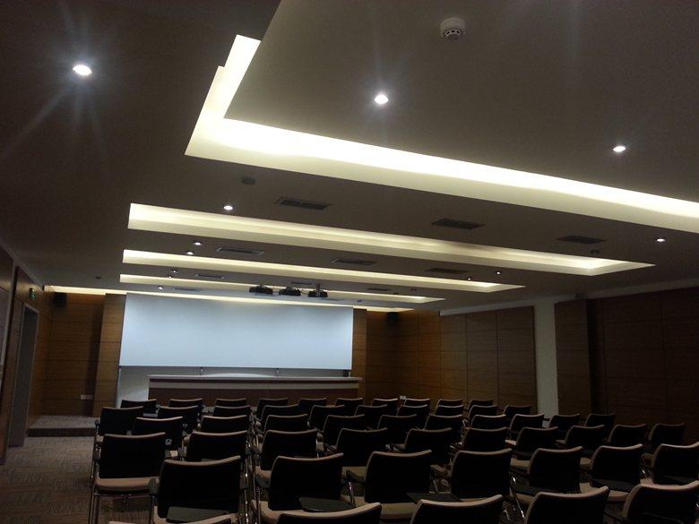 Gazi Universty Tecno City Conferance Hall İnterior