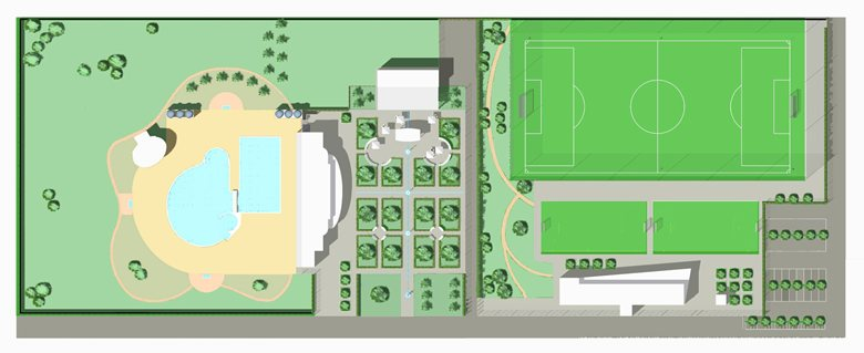 Centro sportivo a San Vito lo Capo