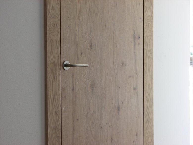 """porta """"Quadro"""" in rovere nodato"""
