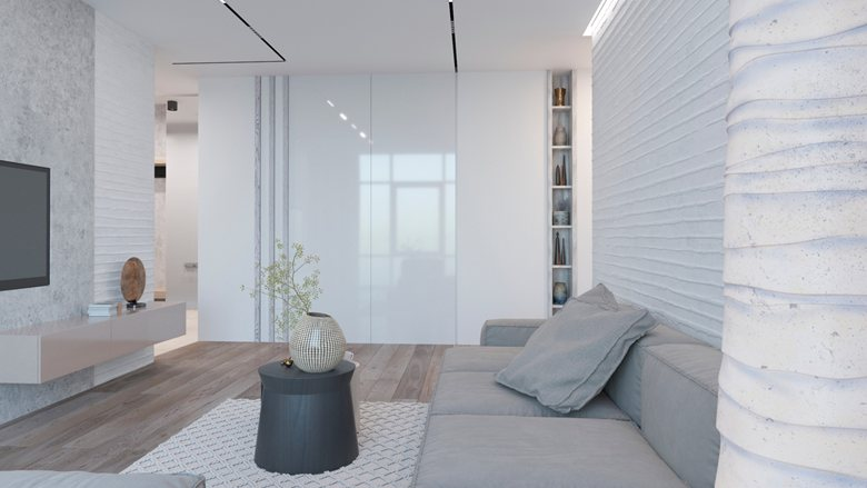 Ethno White Minimalist Apartment With Warm Vibes Yakusha Design
