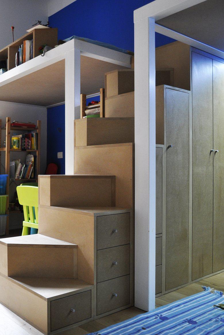 scala mobile per letto a castello   paolo daniotti