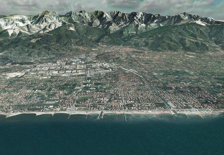 FlyThrough della Provincia di Massa Carrara