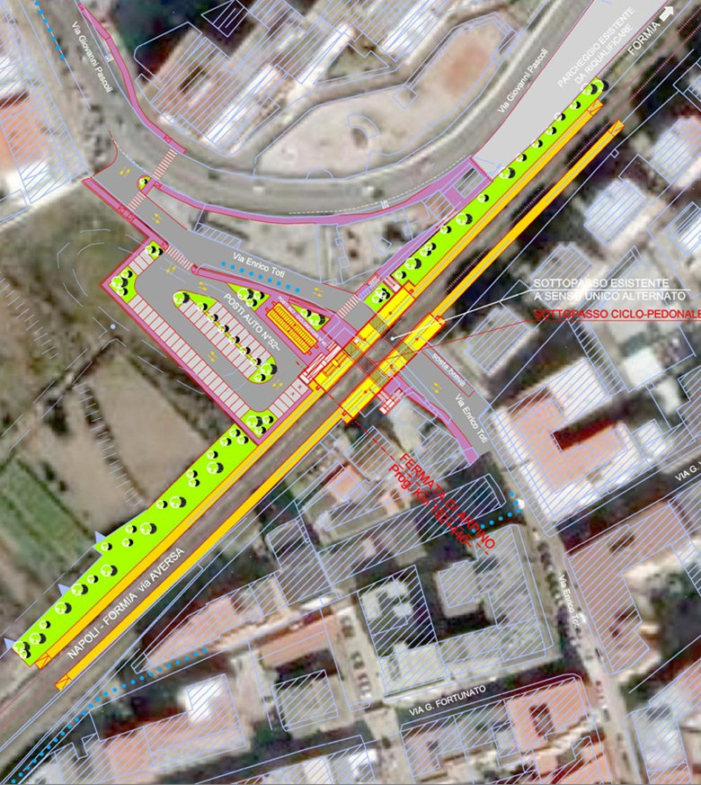 Studio dell'accessibilità al Sistema di Metropolitana Regionale (SMR) della Campania