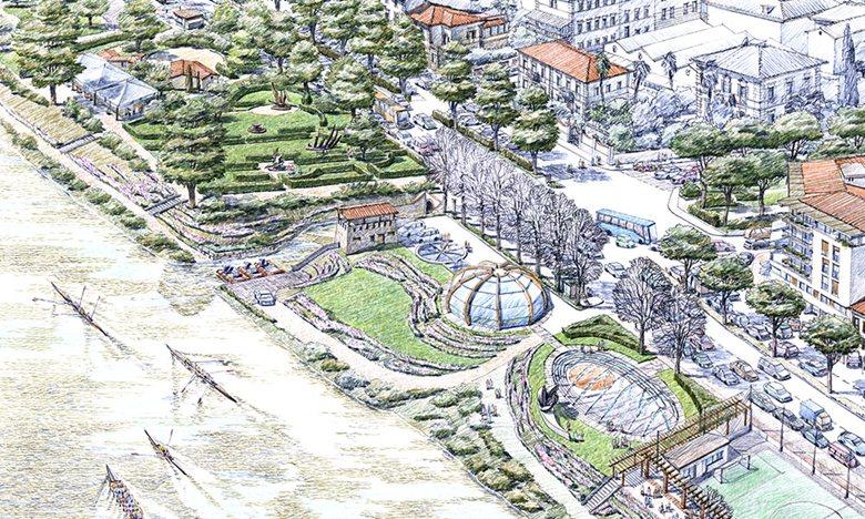 Progetto di riqualificazione riva destra dell'Arno
