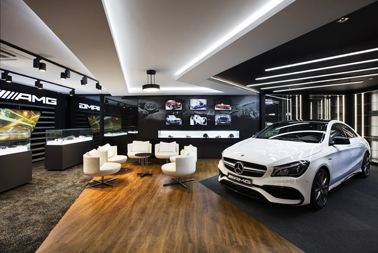Mercedes Benz AMG Digital Showroom
