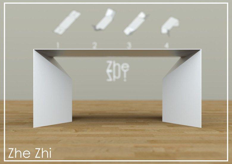 Zhe Zhi - Tavolo in Cristalplant®