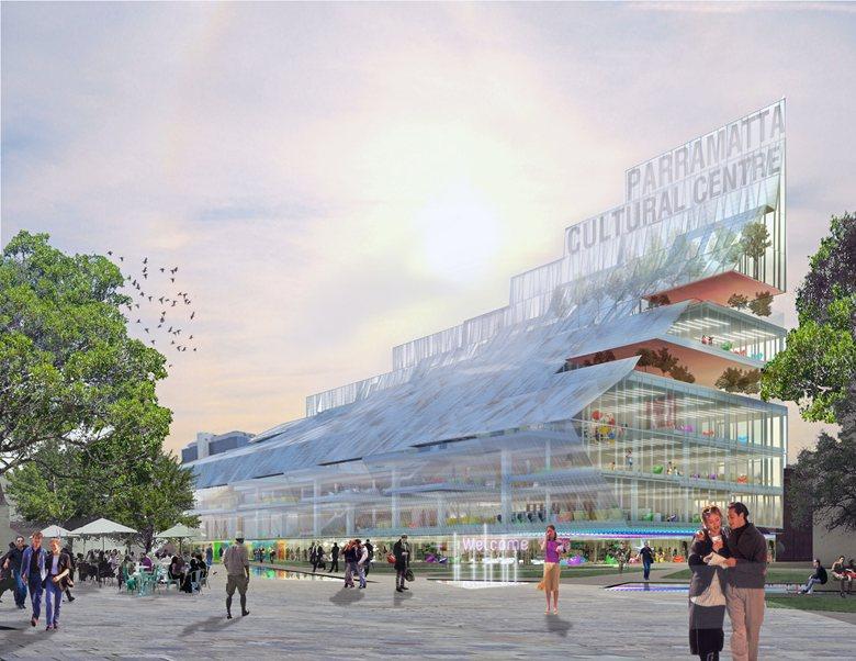 Parramatta Square's Landmark civic and community building