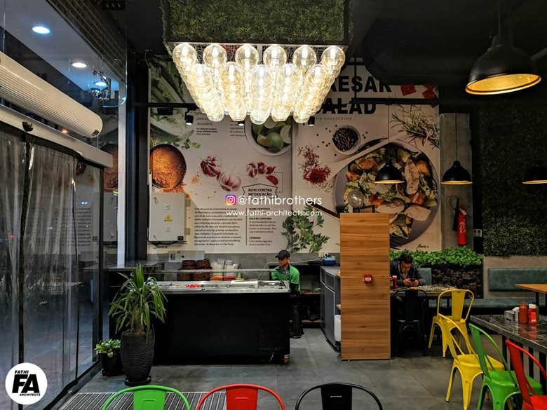 Restaurant Interior Design & construction / Alavin Fast food & Cafe, Theran, Iran