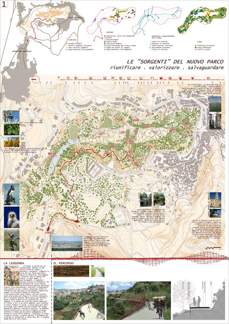 Sant'Arcangelo, intervento di architettura paesaggistica e ambientale