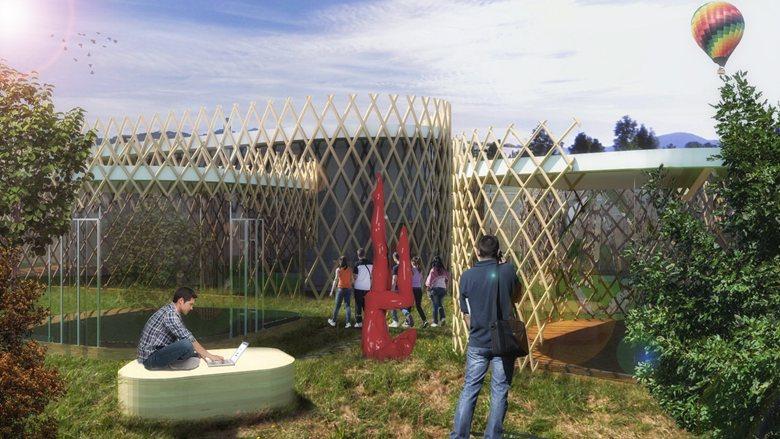 """Nuova struttura polivalente presso il parco dell'ospedale """"alla Trucca"""""""