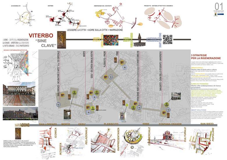 """Concorso nazionale di idee """"Le piazze fanno Centro"""" Viterbo"""