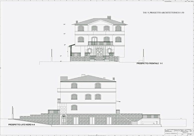 Progetto di completamento funzionale di una casa for Progetto di una casa