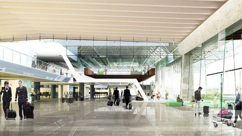 """Aeroporto """"Leonardo da Vinci"""" di Fiumicino - Terminal 3"""