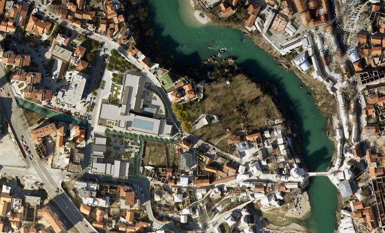 ruza square mostar bosnia