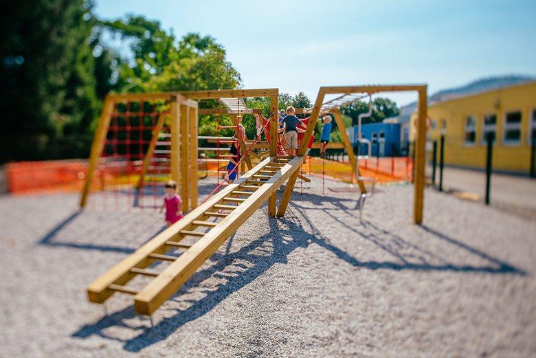 Sticks playground