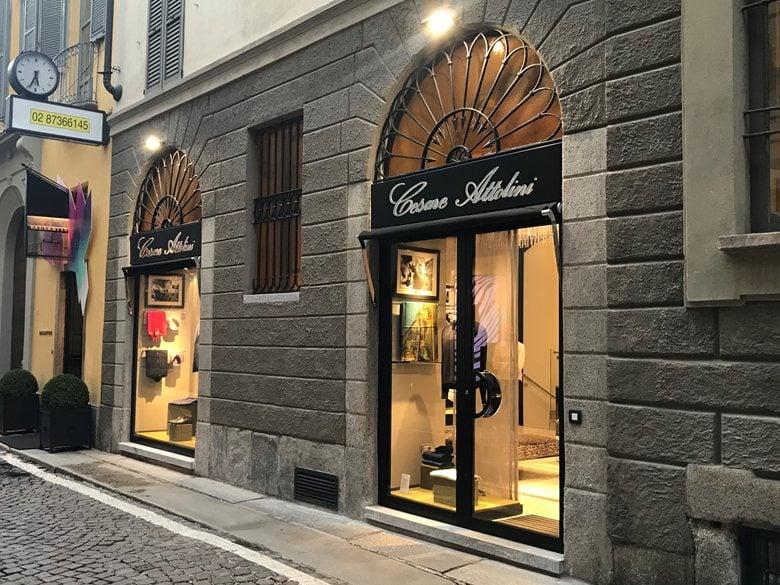 My last work for Cesare Attolini in Milan Via Bagutta