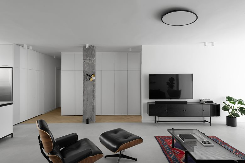 GR+4 - An apartment design for a family