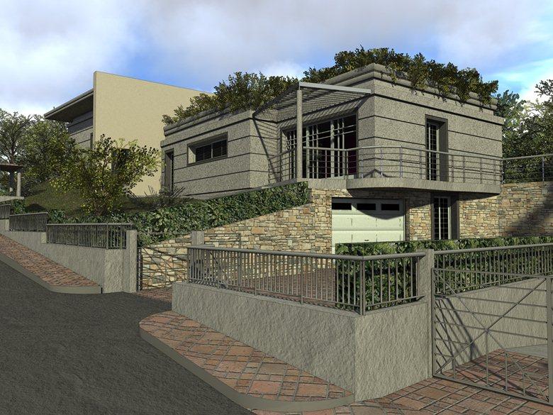 Progetto per villa unifamiliare