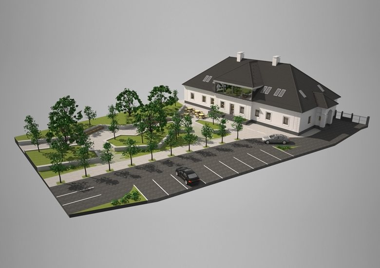 Manor-house reconstruction