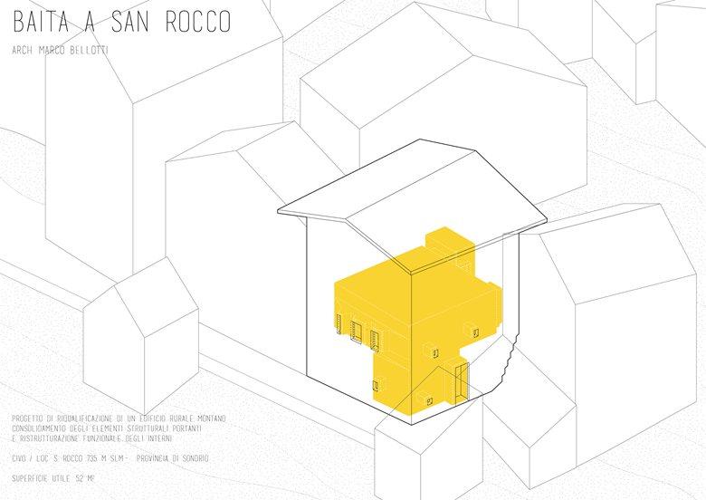Mountain House in San Rocco / Baita a San Rocco