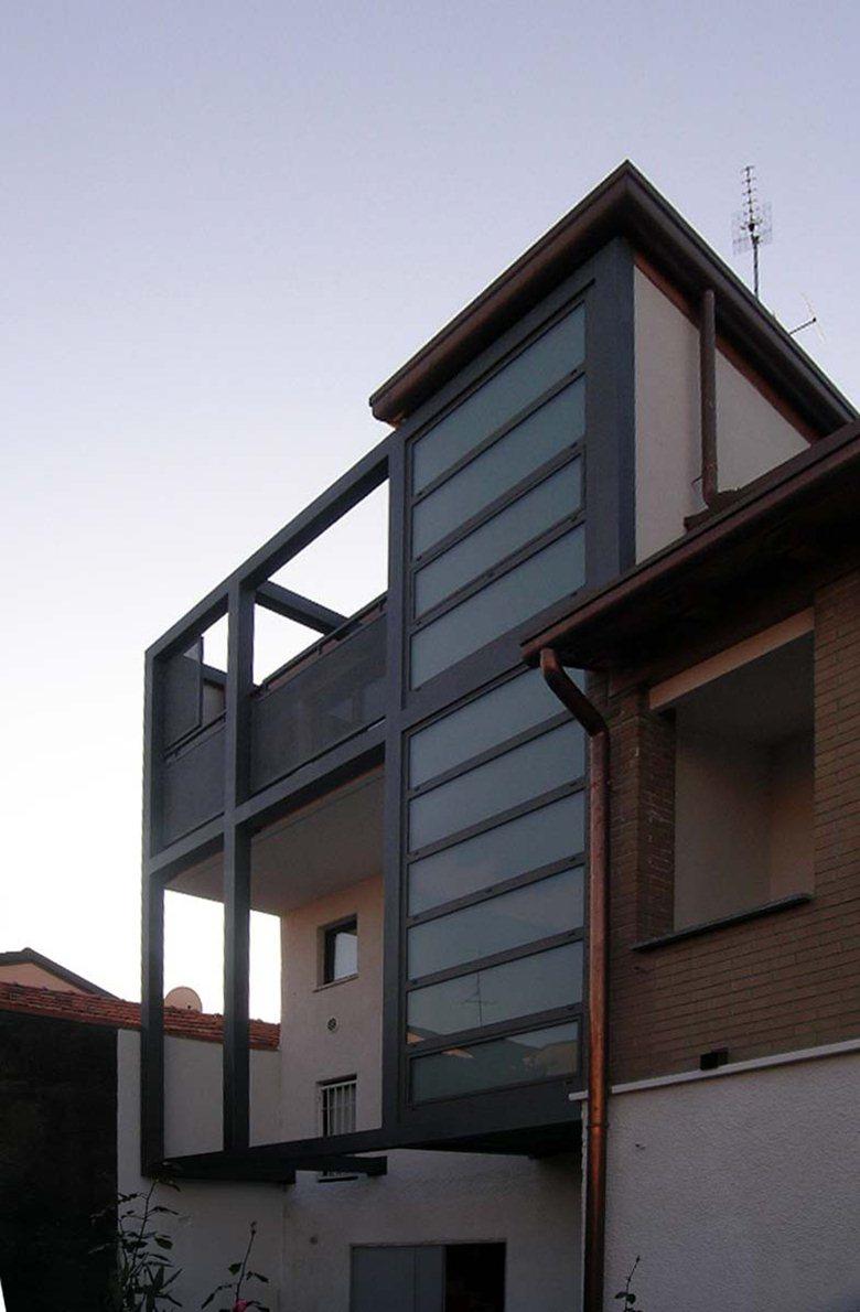 ampliamento di una residenza