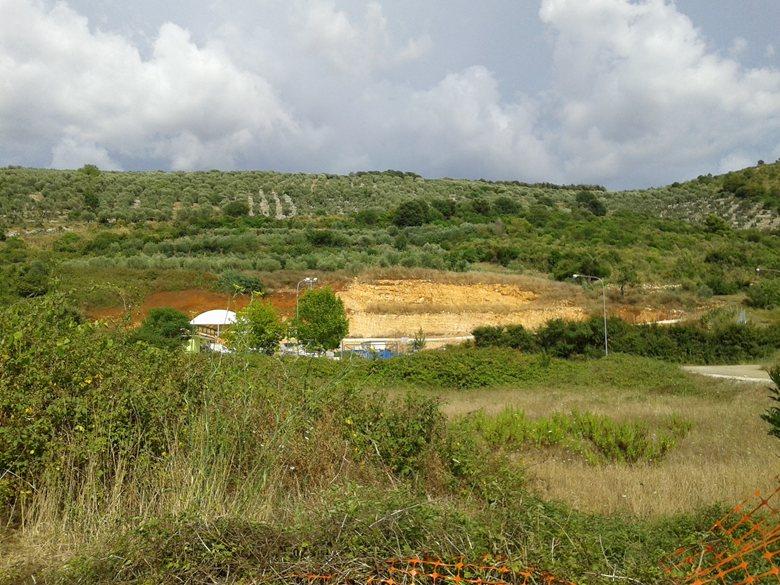 Intervento di ripristino ambientale di un settore del versante occidentale di Monte Sant'Angelo