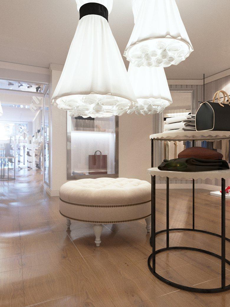 Interior Design of Fashion Butique