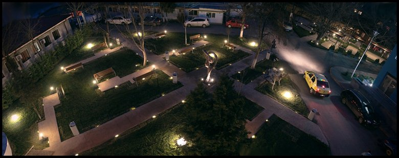 Bucharest Park and Teracce design