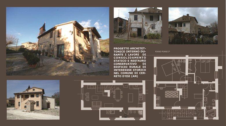 Ristrutturazione di edificio rurale di interesse storico