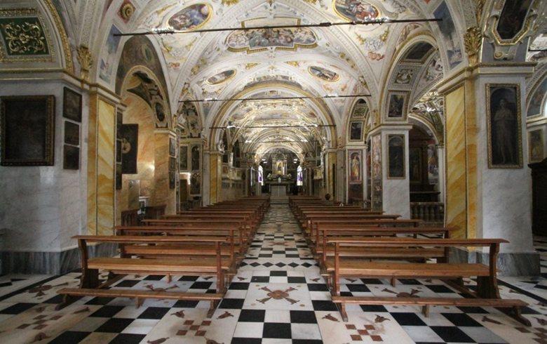 Illuminazione LED del Santuario della Madonna del Sasso