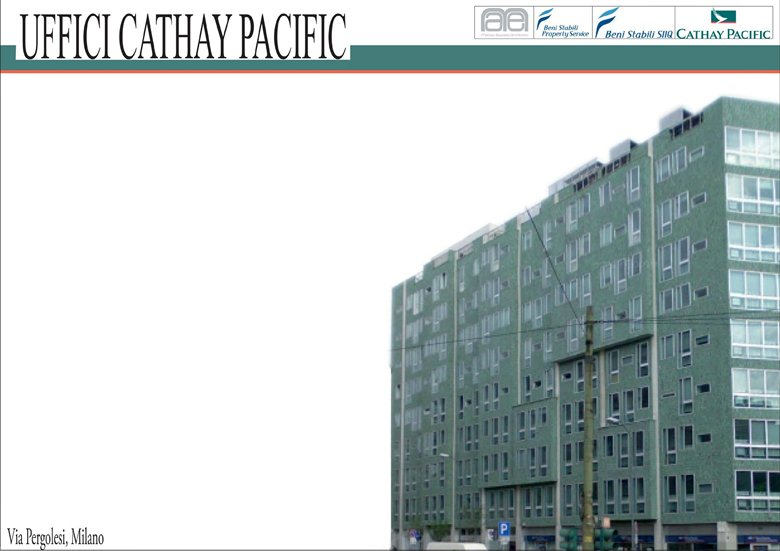Uffici Cathay Pacific / Cathay Pacific Offices, Milan (Italy)