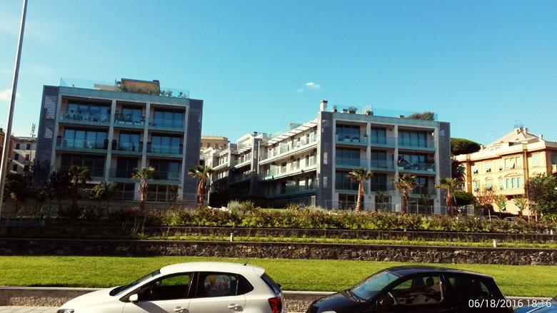 Insediamento residenziale, autorimessa interrata ed area a verde pubblico ex rimessa AMT -  Via Boccadasse - Via Arnaldo da Brescia, Genova