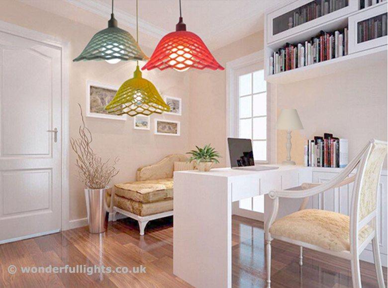Net Silica Pendant Lamp Variations