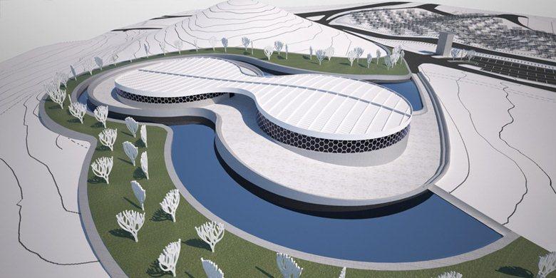 Museo nel futuro parco archeologico- fluviale di Sarcapos