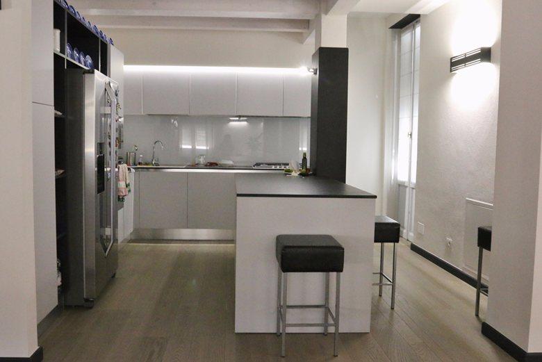 restyling appartamento e recupero del sottotetto